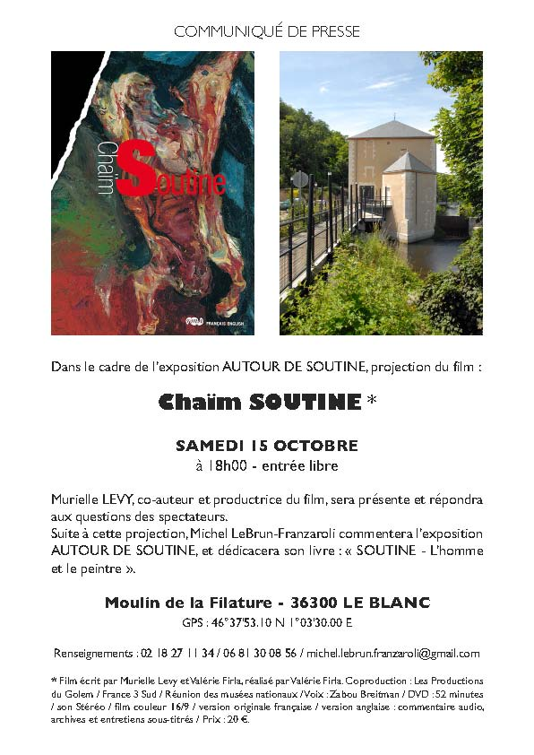 Le Blanc Projection Soutine